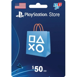 Tarjeta PSN 50 dolares digital - PlayStation Store USA