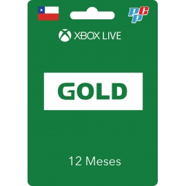 Tarjeta XBOX Live Gold Global 12 meses digital - XBOX Chile