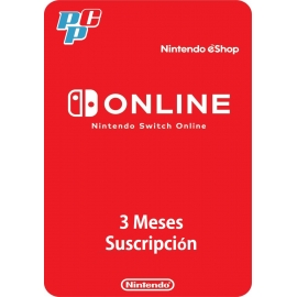 Nintendo Switch Online 3 meses digital - Nintendo USA
