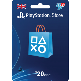 Tarjeta PSN Inglaterra 20 libras digital - PlayStation Store Reino Unido UK