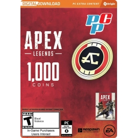 Tarjeta Apex Legends 1000 coin digital