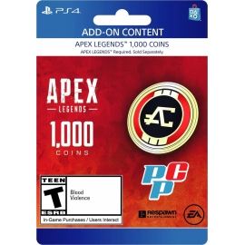 Tarjeta PSN Apex Legends 1000 coin digital