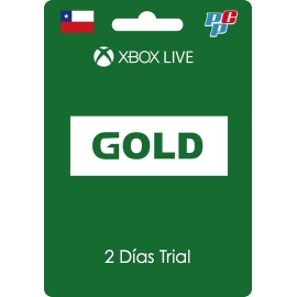 Tarjeta XBOX Live Gold Global 2 días trial digital - XBOX Chile