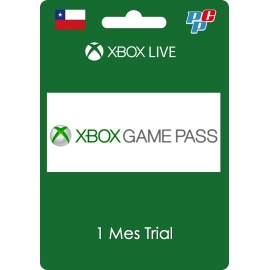 Tarjeta XBOX Game Pass Global 1 mes trial digital