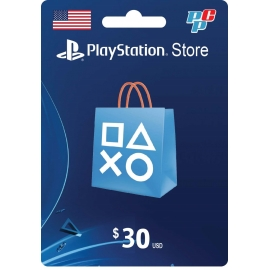 Tarjeta PSN 30 dolares digital - PlayStation Store USA