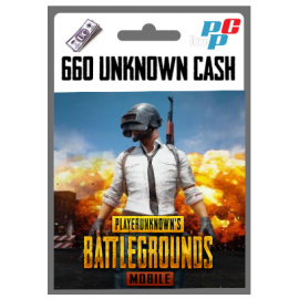 Codigo 660 Unknown Cash (UC) PUBG Mobile