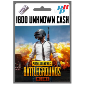 Codigo 1800 Unknown Cash (UC) PUBG Mobile