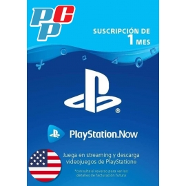 Tarjeta PS Now 1 mes digital - PlayStation USA