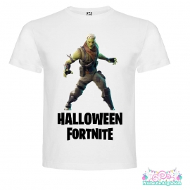 Zombie Halloween Fortnite Halloween Polera Regalo Cumpleaños